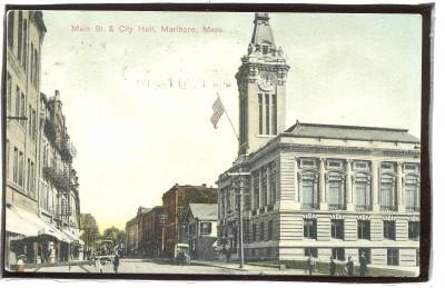 Main Street Marlboro Mass.1.45