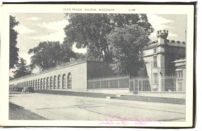 State Prison Waupun WI 1930s  1.49