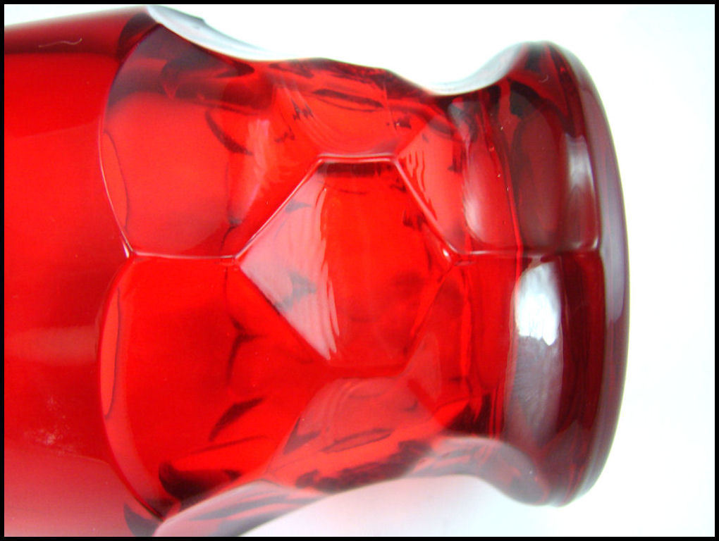 Paden City Ruby Red Georgian 9 oz Tumbler image 3