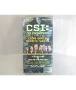 CSI Crime Game and Booster Pack #1 NEW - $6.95