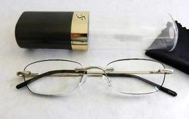 Insight Women's Platinum Reading Glasses in Tube Case +1.25 - $19.99