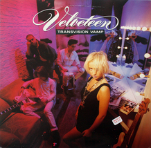 Transvision Vamp - Velveteen LP UK Scarce Glam - $10.00