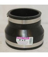 Fernco P105643 Four By Three Inch Flexible Drain Coupling - $19.99
