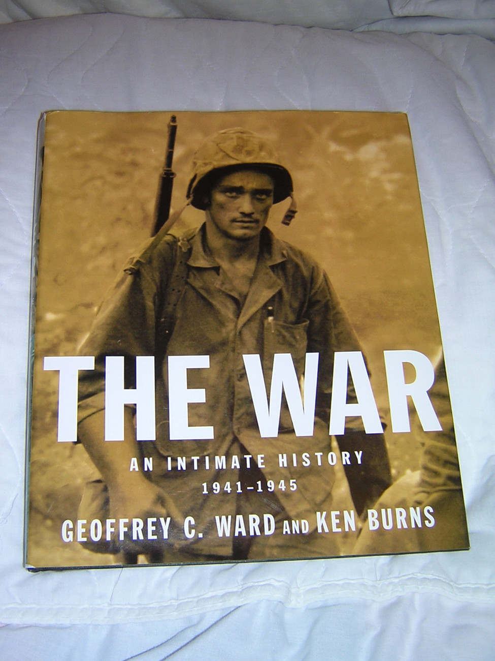 The War: An Intimate History 1941-1945 by Ken Burns and Geoffrey C. Ward.
