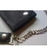 WALLET - Black Leather Chain  - $10.00