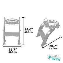 6 COLORS to CHOOSE. Mr Frog - Potty training seat with ladder, toilet HELPER for image 7