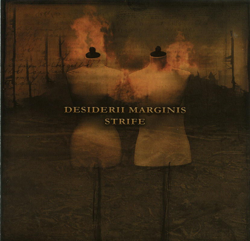 Desiderii Marginis - Strife CD CMI Dark Ambient