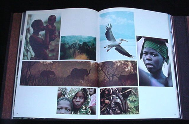Huge Dieter Blum Africa Coffee Table Book African Culture