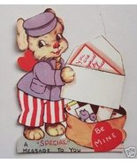"""Old Valentine Puppy Dog """"Special Message To You"""" - $5.00"""
