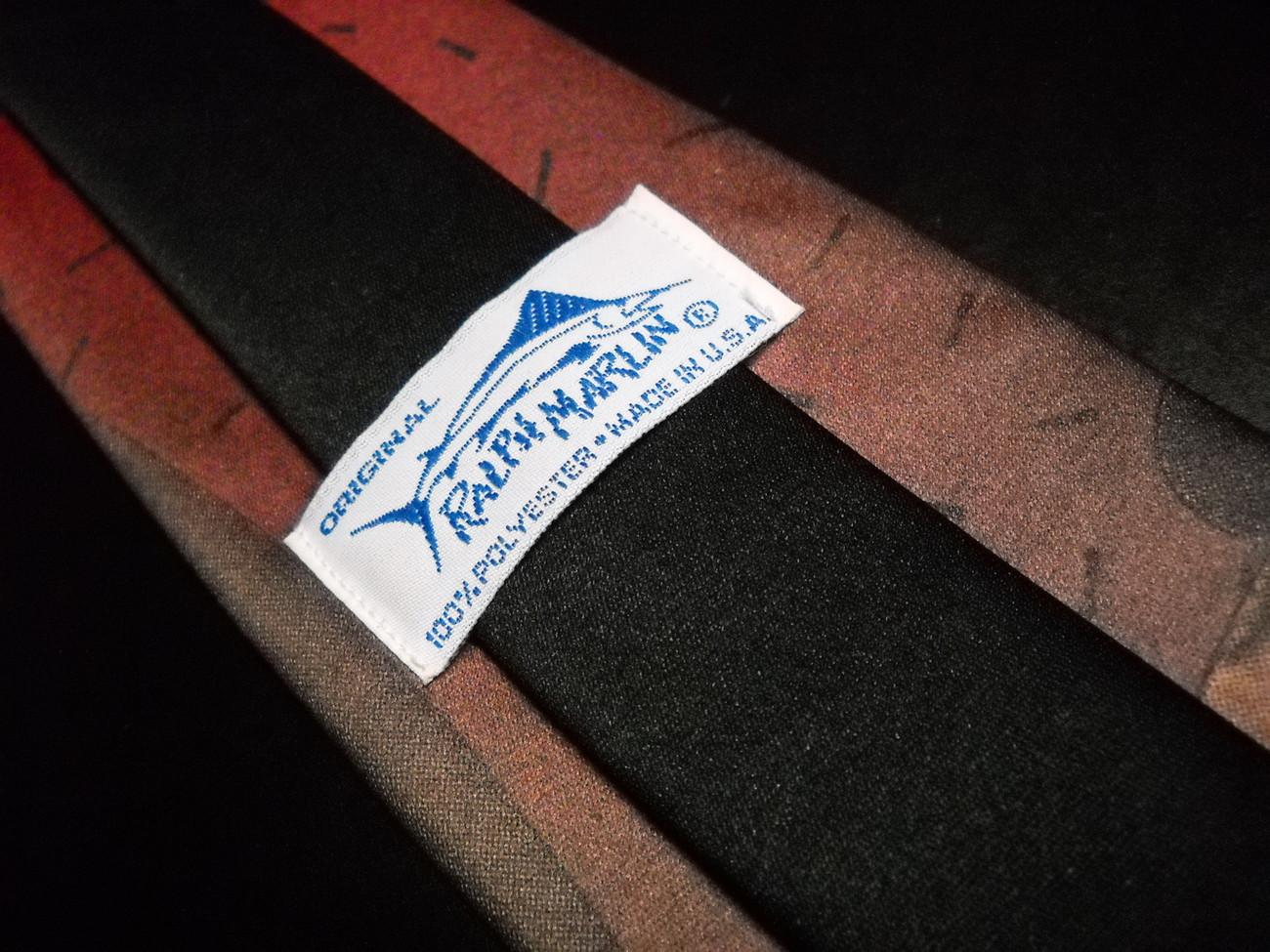 Ralph Marlin Neck Tie Biker Beldar 1993 SNL Dan Aykroyd Conehead NBC Paramount