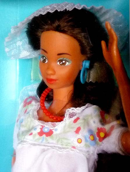 MEXICAN BARBIE DOTW COLLECTION #1917 NRFB MINT 1988