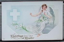 1910's Post Card Easter Angel James E Pitts - $3.50