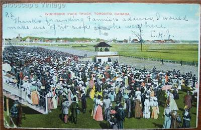 Primary image for 1906 PC Woodbine Race Track, Toronto, Ontario, Canada
