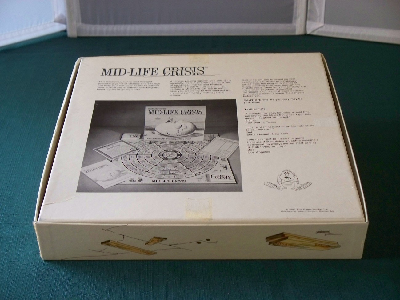 Mid-life Crises Game Can You Survive? Game Works 1982 Comp