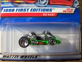 Hot Wheels Go Kart #651 #1 - $4.95