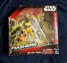 Star Wars Hero Mashers Rebels Garazeb Orrelios Action Figure Hasbro 2015... - $9.90