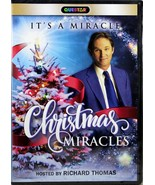 Christmas Miracles NEW DVD It's A Miracle Holiday Stories Host Richard T... - $17.61