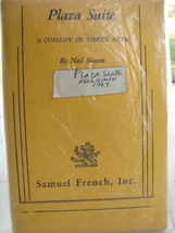 Vintage 1969 Samuel French Acting Edition Plaza Suite  A Comedy Neil Simon  - $25.00