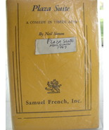 Vintage 1969 Samuel French Acting Edition Plaza... - $25.00