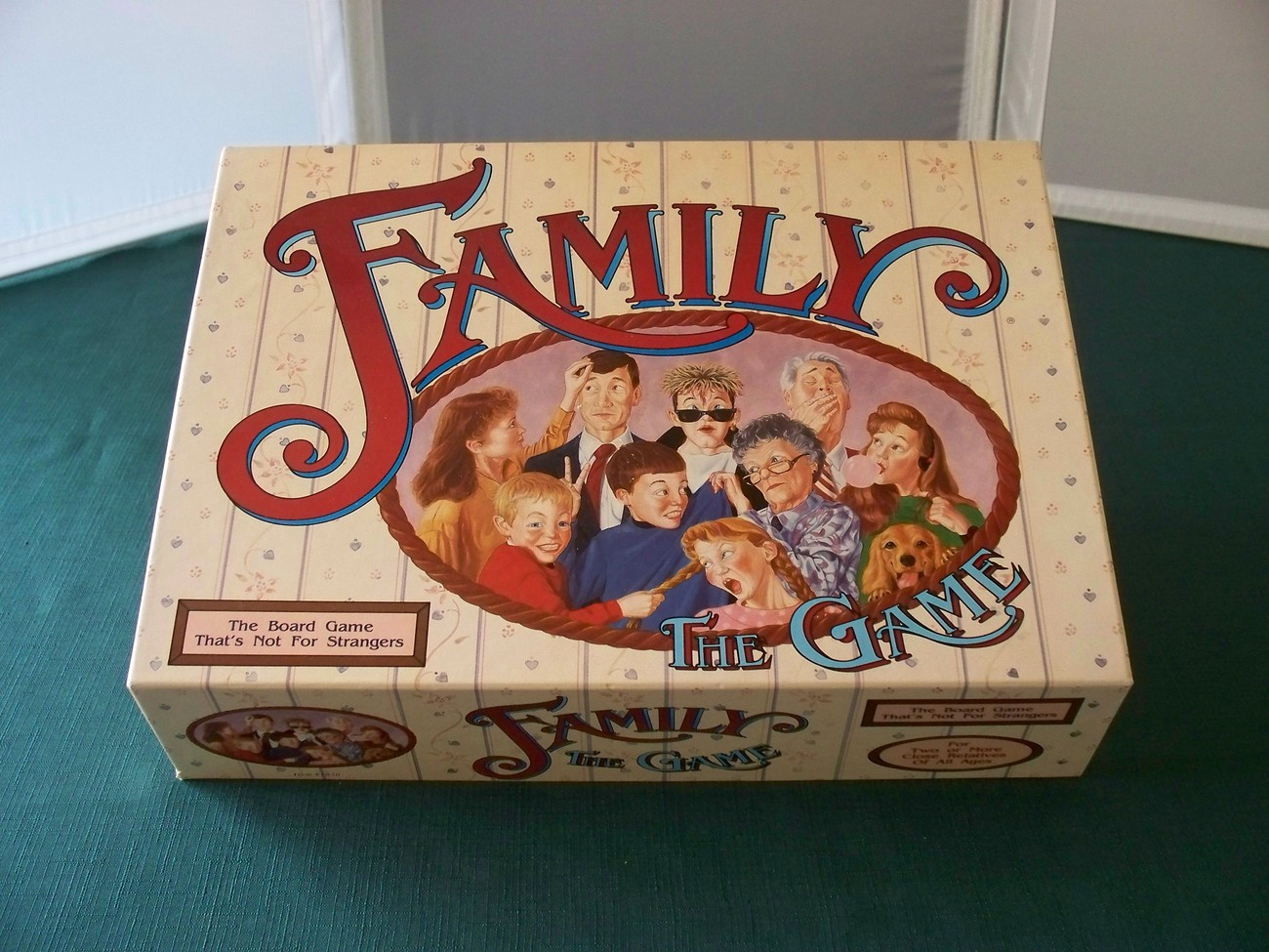 Family The Game TDC Games 1990 Complete VGC