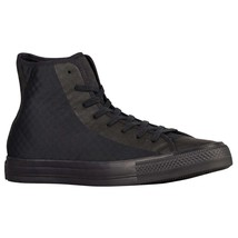 Converse Chuck Taylor All Star Hi Fuse Black Tectuff Skin 154904C Men Sneakers - $67.95