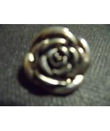 Vintage Rose Silver Oxidized Enhancer/Pendant - $25.00
