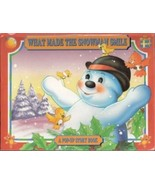 What Made the Snowman Smile A Pop-up Storybook by Grandreams - $5.00