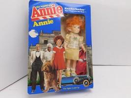 Knickerbocker Girls Doll World Annie Collectible Toy Red Dress Yellow Dress - $7.91