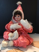 """Antigue Doll 1952. Hand Made Doll & Clothes 1952. Pristine Doll 13"""" Tall. - $21.78"""