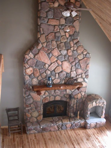 #DIY-599 COMPLETE STONE VENEER PROJECT KIT MAKES YOUR STYLE CHOICE FOR PENNIES