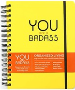 You Are a Badass 17-Month 2019-2020 Monthly/Weekly Planning Calendar Sin... - $13.86