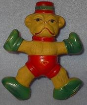 Celluloid Baby's Monkey Rattle Vintage Toy - $10.00