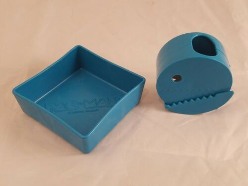 Primary image for Vintage PAC-MAN Board Game - Original BLUE Tray & Pacman Replacement Parts