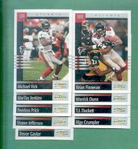 2003 Score Atlanta Falcons Football Team Set - $1.50