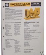 1984 Caterpillar 3208 Generator Set 75, 100kW Brochure - $6.00