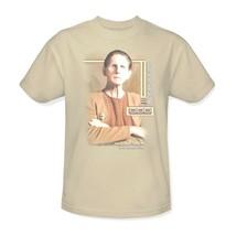 Star Trek Odo T-shirt Deep Space Nine DS9 retro 100% cotton beige tee CBS520 image 1