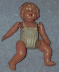 Japan Celluloid String Doll Vintage Toy