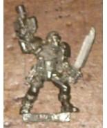 * Warhammer 40,000 Space Marine Scout #2 metal OOP - $4.00