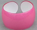 Bangle lucite pink translucent sparkle thumb155 crop