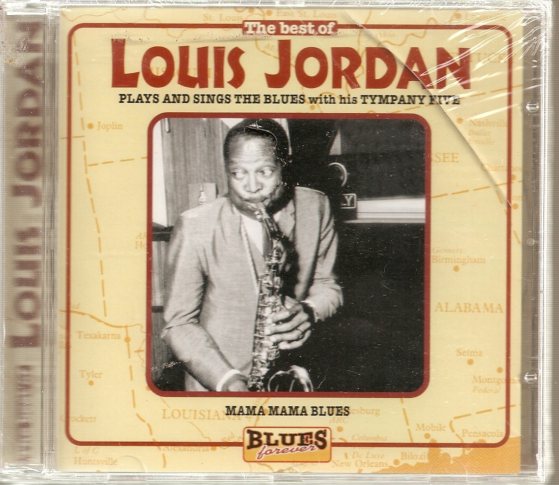 CD- Best of Louis Jordan [Blues Forever] by Louis Jordan