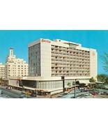 MIAMI BEACH, FL Florida  HOTEL SEVILLE~Collins AveStreet View~50's Cars ... - $4.85