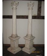 Pair of Masonic Collumns 7' high - $500.00