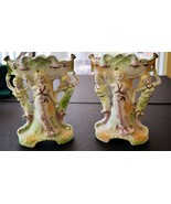 Vintage two vase planter Paul's Gifts Japan pin... - $14.28