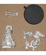 * Warhammer 40,000 Space Marine Terminator Chaplain OOP metal - $15.00