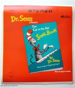 Dr. Seuss, 1960's, One of a Kind, Printer's Proof of LP