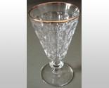 Jeannette gold rim goblet thumb155 crop
