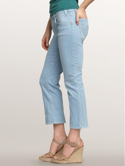 New Womens Gap 1969 Crop Capri Jeans NWT 26 2 29 X 24 Light Blue