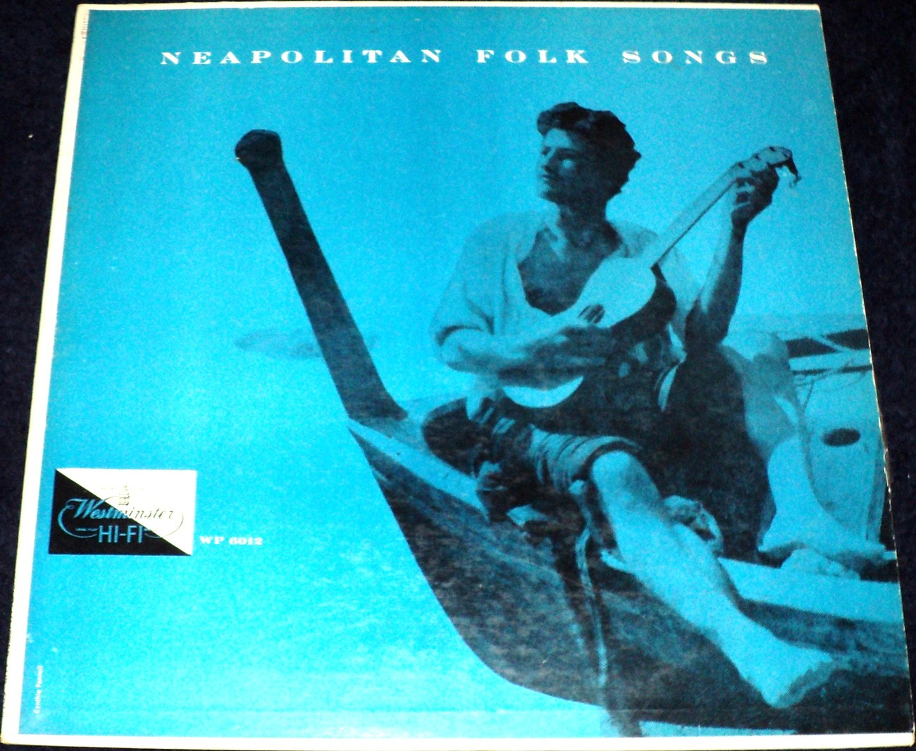 MIKLOS GAFNI /NEAPOLITAN FOLK SONGS LP