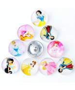10pcs/lot Wholesale DIY Cartoon Snap Jewelry 18mm Elsa & Anna Princess S... - $12.78
