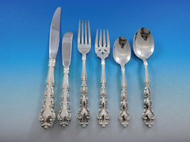 Modern Baroque by Community Oneida Silverplate Flatware Set Service 61 Pieces - $1,095.00